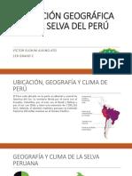 Ubicacion Geografica de La Selva