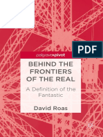 Behind the Frontiers of the Real a Definition of the Fantastic