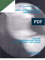 CORD 2001 Article Globalization of Irish Dancing