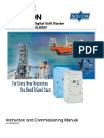 Solcon HRVS-DN MV Soft Starter Instruction & Commissioning Manual