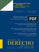 Revista de Derecho de La Ucb No1 Oct 2017