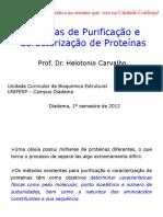 5. Técnicas de Purificação de Caracterização de Proteínas.ppt