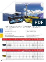 Formula Star Solar Monoblock 2017