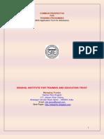 Singhal Institute for Training and Education Trust - CommonProspectus.Oct2010