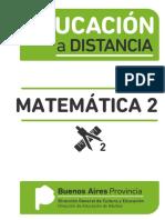 Educación a Distancia Matemática 2