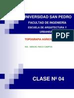 CLASE 04 - ALTIMETRIA Y NIVELACIÓN.ppt