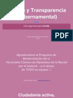 Conversatorio Género y Transparencia (UBA, 2018)