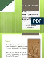 Green tea and cancer (EGCG mechanisms)