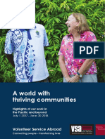 A World of thriving communities