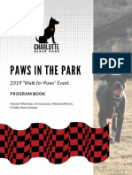 charlotte black dogs campaign program book