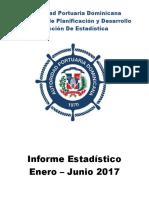 Puerto Sam Pedro Informe Estadístico Autoridad Portuarias.