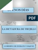 La Dictadura de Trujillo
