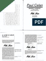 Maurice-Blanchot-Paul-Celan-el-último-en-hablar-José-Ángel-Valente-Doce-versiones-