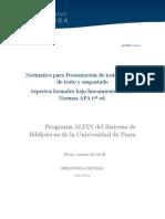 Alfin 2018-2 Normativa Abreviada Para Formato de Texto y Empastado-corregida Julio 2018