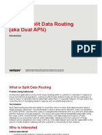 Verizon Split Data Routing Dual APN Overview