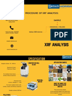 Flyer XRF Analysis-Restch and Horiba-Jakarta