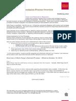 Wells Fargo Tsunami Repurchase Process Overview October 2010