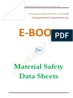 E-book No.05 on Material Safety Data Sheets (MSDS)