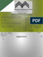 Desastres en Los Ecosistemas de China