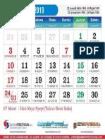 kalender 2019 - 03