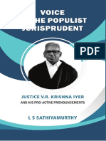 VOICE OF THE POPULIST JURISPRUDENT[L.S.SATHYAMURTHY ]