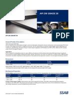 Data Sheet API 2W Grade 50
