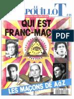 Le Crapouillot N° 104 - Qui Est Franc-Maçon