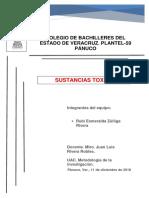 Estructura Del Proyecto de Investigacion