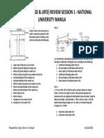 Steel Design Review Handout