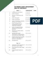 Manual of Works Audit
