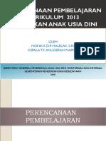 Materi Perencanaan Pembelajaran Prov Ntt