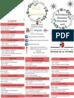 Programa Actividades Navidad 2018
