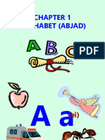Bab 1 Alphabet (Abjad)