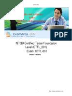 CTFL 001 Q&A Demo ExamArea