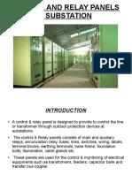 Control & Relay panels