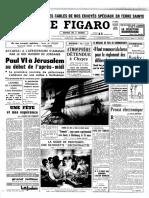 Voyage de Paul VI en Terre Sainte