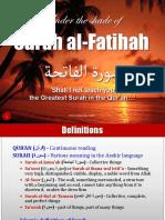 Surah Al Fatihah