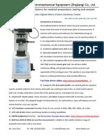 Digital Microvickerhardness Tester DV-1AMT-8