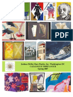 Artists' Books Catalogue 34 -- Spring 2007