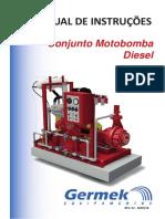Manual Motobomba Diesel de Incêndio - Instalação e Operação Rev02. Março 2018