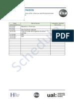 lo3 production schedule