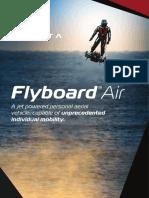 Zapata Flyboard Air Brochure en Web