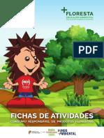 Fichas de Atividades - Consumo Responsável de Produtos Florestais