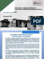 Informe de la Pobreza de la UCA - Diciembre 2018