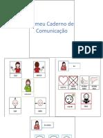Caderno de Comunicação Modelo