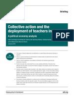 ODI - 2016 - Example of Political Economy Analysis