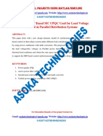 Design of a SRF Based MC UPQC Used for Load Voltage Control in Parallel Distribution Systems