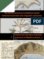 The British Presence in Madeira Island