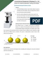 Dial type Manual  Rockwell hardness testing machine (tester) R-150M