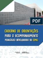 SEDF Caderno de orientações para o acompanhamento pedagógico articulado do do CEPAG